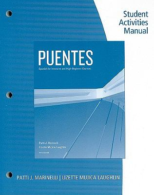 Puentes Student Activity Manual (Spanish Edition)