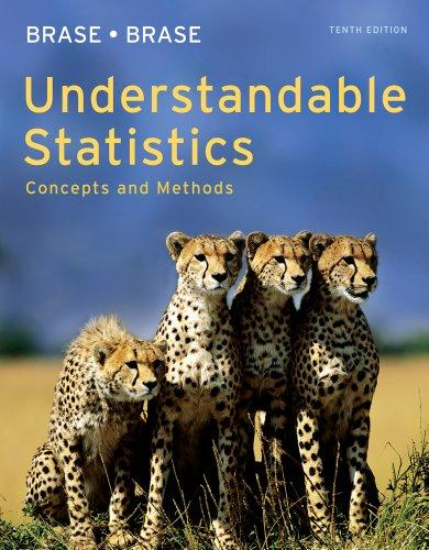 Bundle: Understandable Statistics: Concepts and Methods, 10th + Enhanced WebAssign with eBook LOE Printed Access Card for One-Term Math and Science