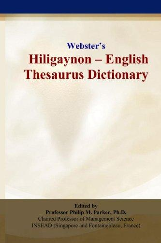 Webster's Hiligaynon - English Thesaurus Dictionary