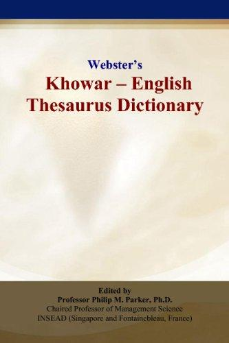 Webster's Khowar - English Thesaurus Dictionary