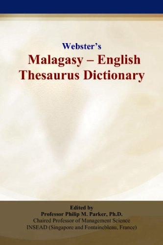 Webster's Malagasy - English Thesaurus Dictionary