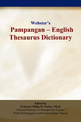 Webster's Pampangan - English Thesaurus Dictionary