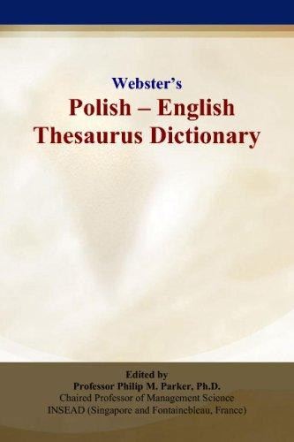 Webster's Polish - English Thesaurus Dictionary