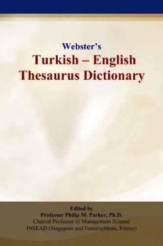 Webster's Turkish - English Thesaurus Dictionary
