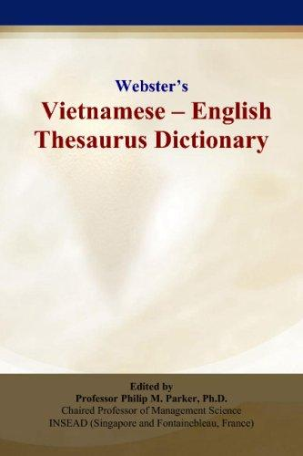 Webster's Vietnamese - English Thesaurus Dictionary