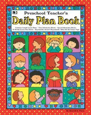 Preschool Teachers Daily Plan Book