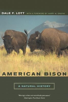 American Bison A Natural History