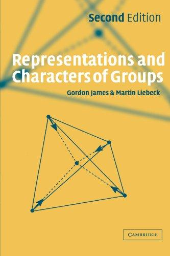 Representations and Characters of Groups, Second Edition