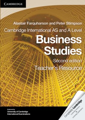 Cambridge International AS and A Level Business Studies Teacher's Resource CD-ROM (Cambridge International Examinations)