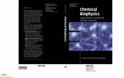 Chemical Biophysics : Quantitative Analysis of Cellular Systems