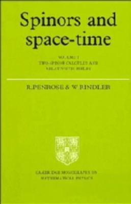 Spinors and Space Time: Two-Spinor Calculus and Relativistic Fields, Vol. 1 - Roger Penrose - Hardcover