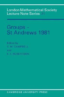 Groups: St. Andrew's 1981