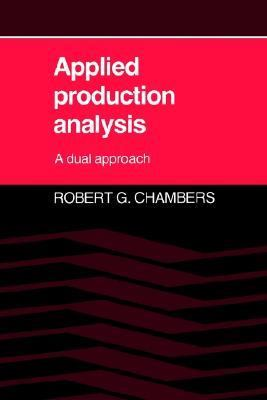 Applied Production Analysis A Dual Approach
