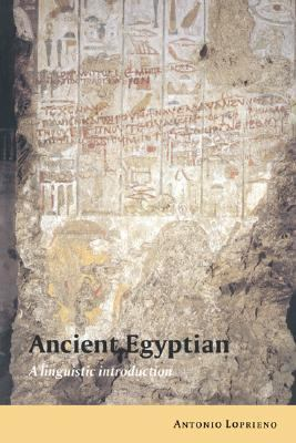 Ancient Egyptian A Linguistic Introduction