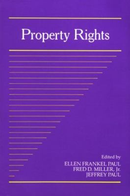 Property Rights, Vol. 2 - Ellen Frankel Paul - Paperback - REPRINT
