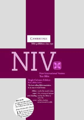 New International Version Bible Single-Column Text Edition