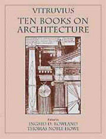 Vitruvius: Ten Books on Architecture