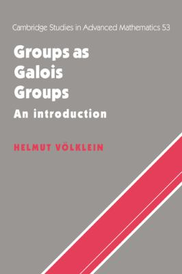 Groups As Galois Groups An Introduction