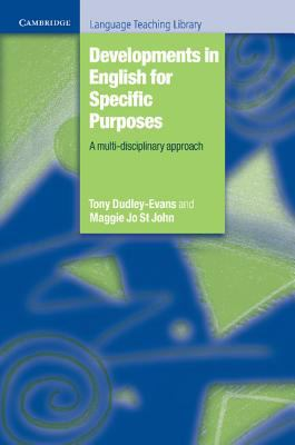 Developments in English for Specific Purposes A Multi-Disciplinary Approach