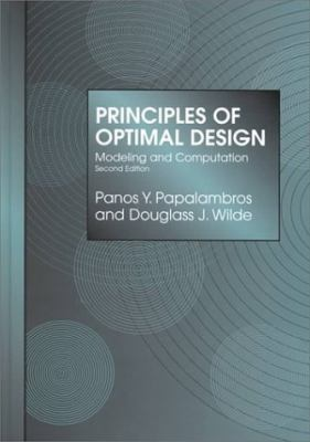 Prin.of Optimal Design