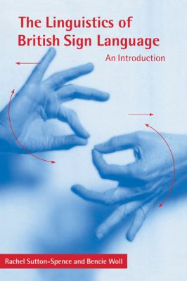 Linguistics of British Sign Language An Introduction