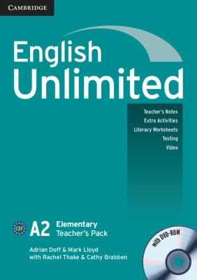 English Unlimited Elementary Teacher's Pack (Teacher's Book with DVD-ROM)