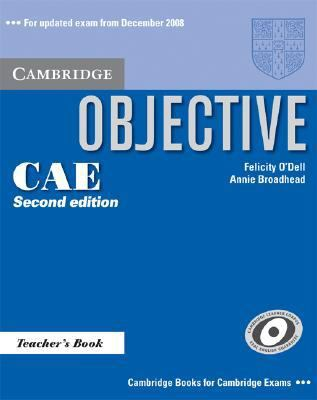 Objective CAE Teacher's Book