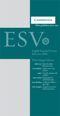 ESV Wide-Margin Reference Gray Hardcover ES741XM