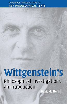 Wittgenstein's Philosophical Investigations An Introduction