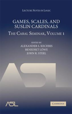 Games, Scales and Suslin Cardinals: The Cabal Seminar