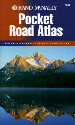 Rand McNally 98 Road Atlas Us Canada Mex