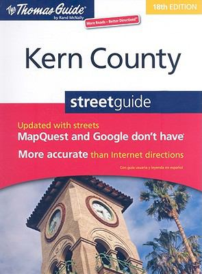 Thomas Guide 2009 Easy to Read Kern County, California (Thomas Guide Kern County)