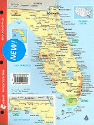 Notebook Map of Florida