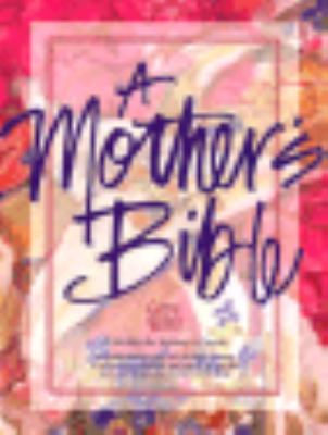 Mother's Bible God's Word / Royal Purple Imitation Learhter