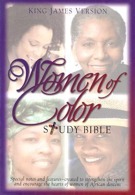 Women of Color Study Bible King James Version / Black Bonded Leather
