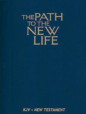 Path to the New Life King James Version New Testament, Blue Imitation Leather, World's Visual Reference System