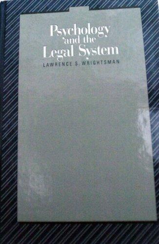 Psychology and the Legal System