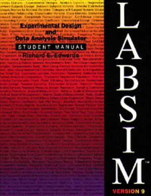Labsim Experimental Design and Data Analysis Simulator, Version 9