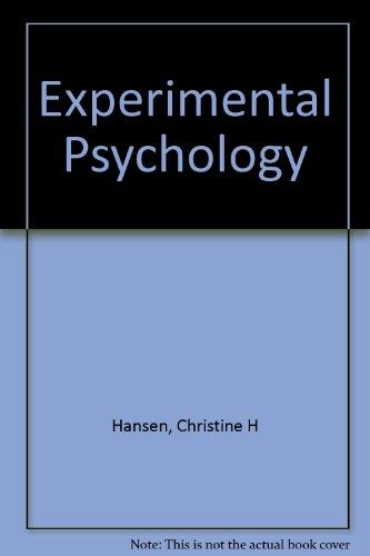 Study Guide & Workbook for Myers/Hansen's Experimental Psychology :