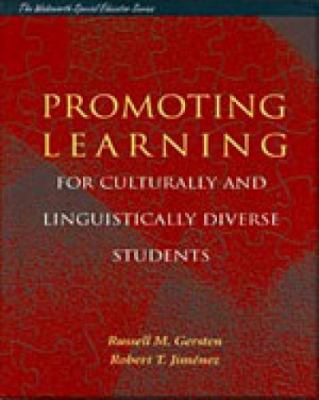 Promoting Learning for Culturally and Linguistically Diverse Students Classroom Applications from Contemporary Research