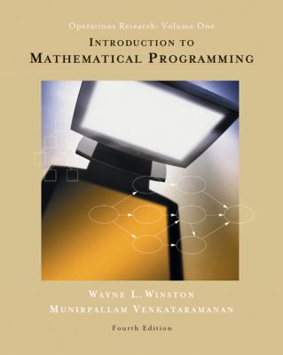 Introduction to Mathematical Programming: Operations Research, Vol. 1 (Book & CD-ROM)