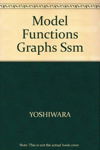 Model Functions Graphs Ssm