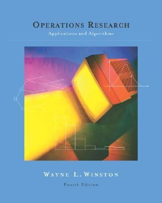 Operations Research With Infotrac Applications and Algorithms