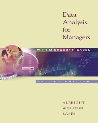 Data Analysis for Managers With Microsoft Excel With Infotrac