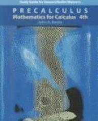 Precalculus: Mathematics for Calculus (Study Guide)