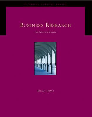 Business Research For Decision Making With Infotrac