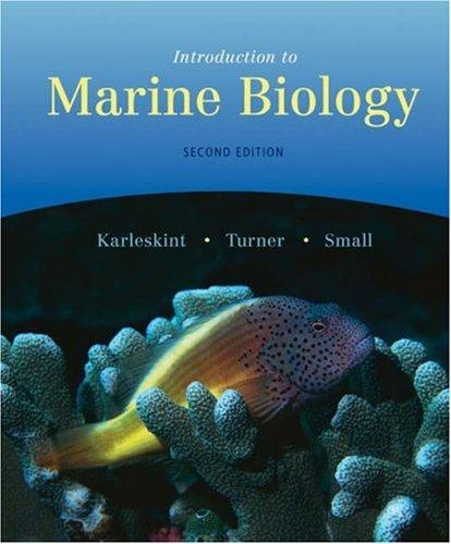 Introduction to Marine Biology (with InfoTrac)