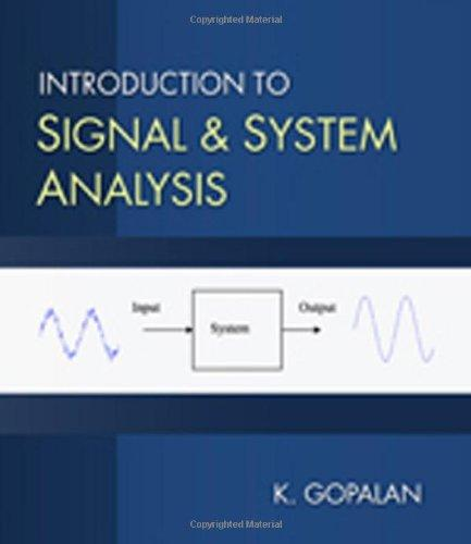 Introduction to Signal and System Analysis
