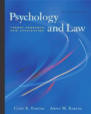 Psychology and Law With Infotrac Theory, Research, and Application
