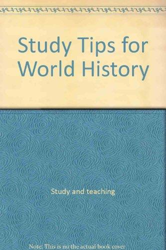 Study Tips for World History